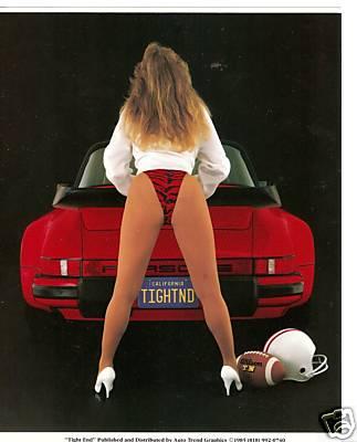 Porsche-911-Turbo-Tight-End-Poster-Rare